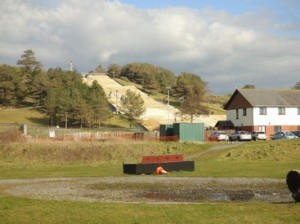 Dry Ski slope at Pembrey Park